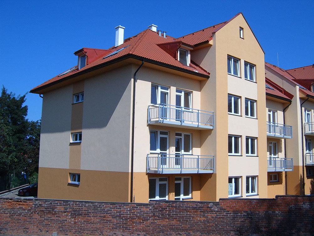 Bytové domy Čáslav